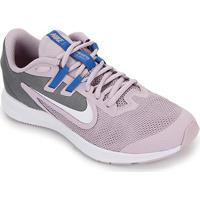 Tênis Infantil Nike Downshifter 9 Gs - Unissex-Lilás+Branco