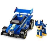 Carrinho E Figura Sunny Chase Patrulha Canina Ready Race Com Som - Masculino-Azul