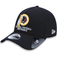 ... Boné 940 Washington Redskins Nfl Aba Curva Snapback New Era -  Masculino-Preto 07d05526c4a