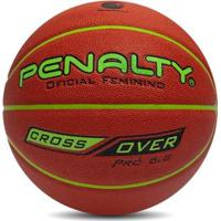 Bola Basquete 6.8 Pró Nbb Crossover Penalty Oficial - Unissex-Laranja