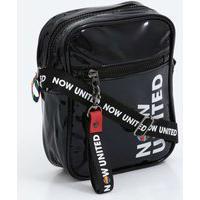 Bolsa Juvenil Transversal Verniz Now United Clio