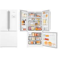 Refrigerador   Geladeira Brastemp Frost Free Side By Side Inverse 540 Litros Branco - Bro80Ab