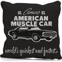 Capa De Almofada Em Poliester American Muscle Car Gm - Unissex