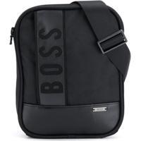 d3557ae6b Farfetch; Boss Kids Bolsa Carteiro Com Logo - Preto