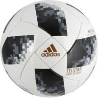 Bola De Futebol De Campo Telstar Oficial Copa Do Mundo Fifa 2018 Adidas  Replique - Branco 53cb815a524ba