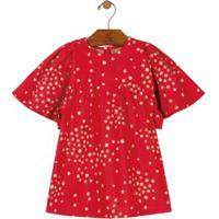 Vestido Festa Menina Vermelho