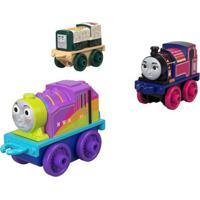 Mini Veículos - Thomas E Seus Amigos - Minis - Sushi Diesel, Ashima E Rainbow Rosie - Fisher-Price