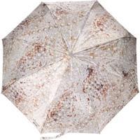 Moschino Pearl Print Umbrella - Neutro