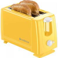 Torradeira Elétrica Cadence Colors Amarelo 750W 220 Volts