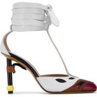 Lanvin Sapato Parrot Salomé - Branco