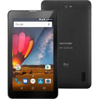 "Tablet 7"" Dual Chip Multilaser M7 3G Plus Preto"