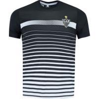 Camiseta Do Atlético-Mg Date 19 - Masculina - Preto