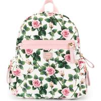Dolce & Gabbana Kids Mochila Com Estampa Floral - Estampado