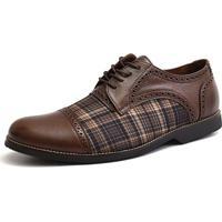 Sapato Social Oxford Shoes Grand 68151/3 Chocolate