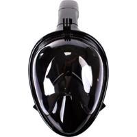 Máscara De Mergulho Full Face Snorkel Com Base Gopro Yangfit - Unissex