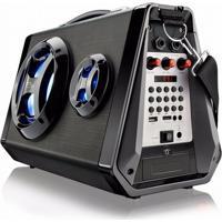 Caixa Amplificadora 80W Sd Bluetooth Aux P2 Mp3 P10 Rádio Fm
