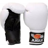 Luva De Boxe Muay Thai Combate Branco - Jugui