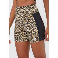 Short Adidas Performance Leopard Bege/Preto