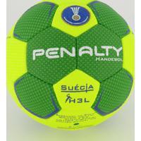 Bola Penalty Handebol Suécia H3L Ultra Grip Amarela E Verde