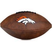 Bola De Futebol Americano Wilson Throwback Nfl Jr. Denver Broncos - Unissex