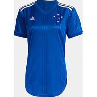 Camisa Cruzeiro I 20/21 S/Nº Torcedor Adidas Feminina - Feminino