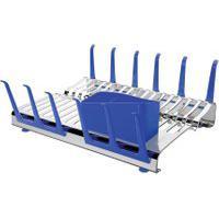 Escorredor De Louças Tramontina Aço Inox Plurale Azul
