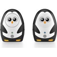 Babá Eletrônica Multikids Baby Áudio Digital Bb024 Branco/Preto