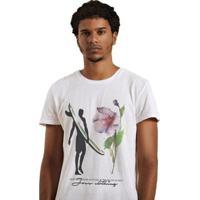 Camiseta Joss Premium Open Yours Eyes - Masculino-Branco