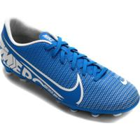 Chuteira Campo Nike Mercurial Jr Vapor 13 Club Infantil
