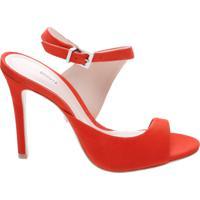Sandália Future Verniz Red Orange | Schutz