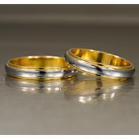 Aliança De Ouro Noivado Anatômica E Diamantes - As0917 + As0918