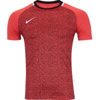Camiseta Nike Dry Academy Ss Gx2 - Masculina - Laranja Esc Preto cae11148a2e87