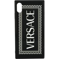 Versace 90'S Logo Iphone X Case - Preto