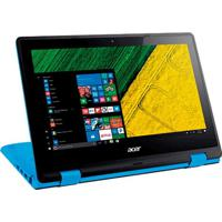 "Notebook Acer Conversível Azul R3-131T-P7Py - Intel Pentium N3710 - 4Gb Ram - Hd 500Gb - Tela 11.6"" - Windows 10 - Touchscreen"