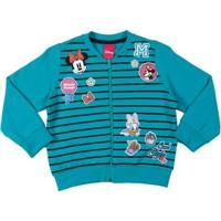 Jaqueta Disney Infantil Para Menina - Verde