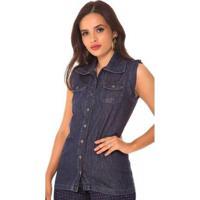 Colete Jeans Express Fernanda - Feminino