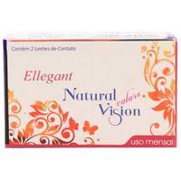 Natural Vision Ellegant Mensal - Com Grau - Lentes De Contato