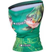 Bandana Go Fisher Proteção Solar Uv 50 - Masculino-Verde