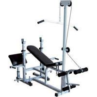 Banco De Supino Wct Fitness 367 Estação De Musculação Aparelho Ginastica Preto