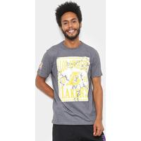 Camiseta Nba Los Angeles Lakers Ticket Masculina - Masculino