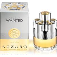 Perfume Masculino Wanted Azzaro Eau De Toilette 50Ml - Masculino-Incolor