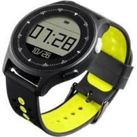 Smartwatch Atrio Es252 Monitor Cardíaco Sportwatch Chronus + Gps À Prova D Água - Unissex