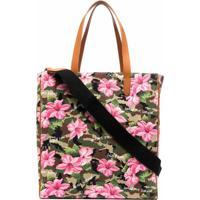 Golden Goose Bolsa California Com Estampa Floral E Camuflada - Rosa