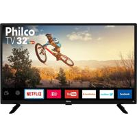 Smart Tv Led 32´´ Philco Ptv32G50Sn, Hd, 1 Usb, 2 Hdmi, Ginga, 60Hz