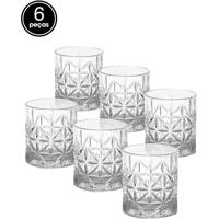 Conjunto 6Pçs Copos Rojemac Para Whisky Stella 300Ml Bon Gourmet
