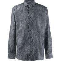 Etro Bohemian Print Shirt - Cinza