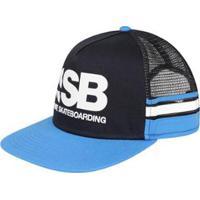 best sneakers b3a62 c6554 ... Boné Nike Aba Reta Sb Cut Trucker Unissex - Unissex-Preto+Azul