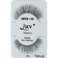 Cílios Postiços Luv Beauty - Luvmylashes Natural Pack Unitário - Unissex-Incolor