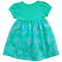 Vestido Infantil Menina Moderna Em Cotton E Tricoline Milon-2