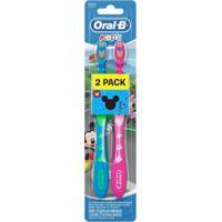 Escova Dental Oral B Kids Mickey E Minnie 2 Unidades